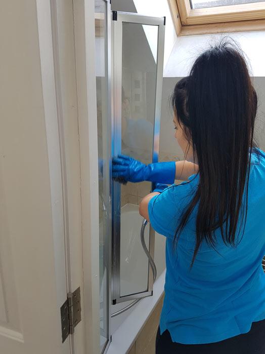 bathroom cleaning lee