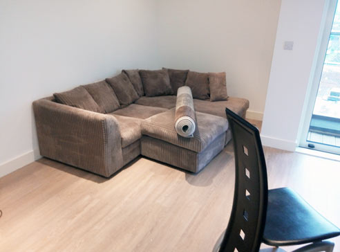 living room tenancy cleaning