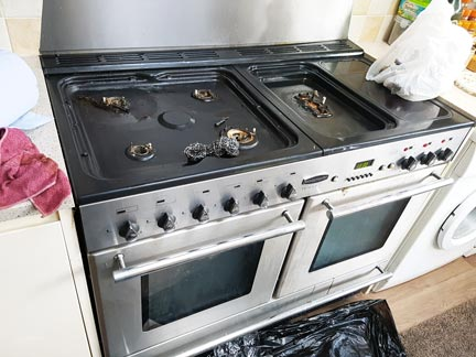 oven cleaning lee