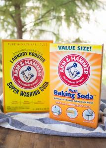baking soda oven cleaning