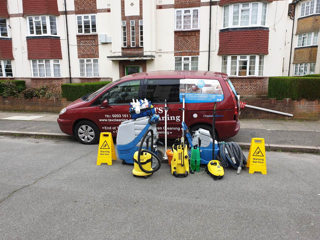 end of tenancy cleaning west London